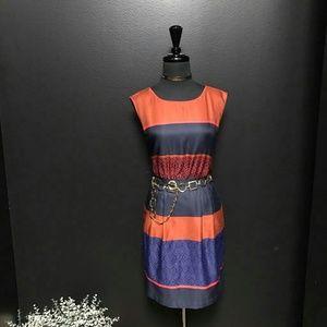 ANN TAYLOR LOFT Midi Party Dress Sz 4